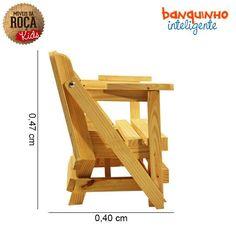 Móveis da Roça Bench/Table combo for children.