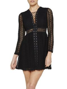 http://www.choies.com/product/black-lace-up-sheer-long-sleeve-high-waist-lace-dress_p62426