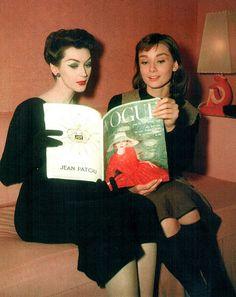 Dovima & Audrey