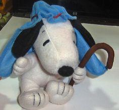 Peanuts Gang Dog Snoopy Nativity Shepherd Christmas Toy Plush Hallmark