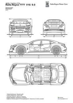 Bentley Concept Blueprints Design by hanif-yayan on DeviantArt Car Top View, Classic Rolls Royce, Cars Land, Expensive Gifts, Bentley Continental Gt, Car Sketch, How To Make Tea, Coffee Lover Gifts, Bugatti Veyron