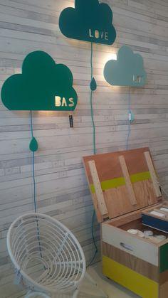 DIY wolkenlamp