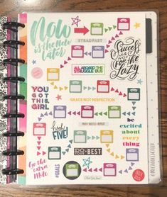 My Happy Planner Layouts - Crooked Creek Life Planner Layout, Goals Planner, Planner Pages, Life Planner, Printable Planner, Planner Stickers, Planner Ideas, Printables, Mini Happy Planner