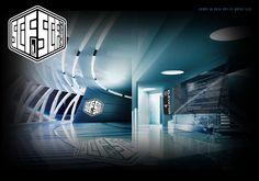 Sci-Fi Hotel® Lobby Concept