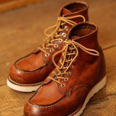 """1606147d2e Red Wing Philippines on Instagram  """"Patina d 875s with new soles. Beautiful  Credit to Red Wing Shoes Taiwan"""". Red Wing 875Red Wing Moc ToeRed ..."""