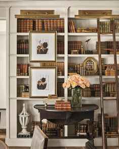 By definition, a home library is a place in a house where one would store his or her books in a composed manner. A home library is maybe the most devout space for such people that are into unquenchable perusing… Continue Reading → Bookshelf Styling, Bookshelf Design, Bookshelves Built In, Bookcases, Interior Exterior, Home Interior, Interior Decorating, Interior Design, Home Library Design