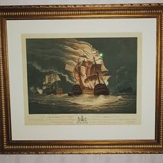 Antique Print, 1800, Naval Battle. #print#prints#antiqueprints#antiqueprint#historicaprints Icon Design, Furniture Design, Icons, Retro, Painting, Vintage, Instagram, Art, Art Background