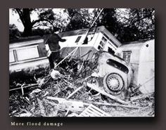 HURRICANE HAZEL: 1954, Toronto, Ontario, Canada. My Father lost friends to the swelling Humber River. The year after I was born. Hurricane Hazel, Atlantic Hurricane, Lost Friends, Toronto Ontario Canada, Flood Damage, Canadian History, Landscape Photos, Interesting Stuff, Old Photos