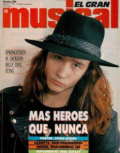 Enrique Bunbury: EL GRAN MUSICAL 1991