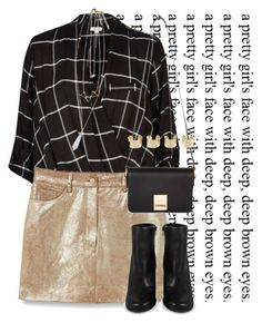 deep, brown eyes. by lipstickytoffee on Polyvore featuring polyvore fashion style River Island MANGO Wet Seal Miista Jaeger Maison Margiela clothing