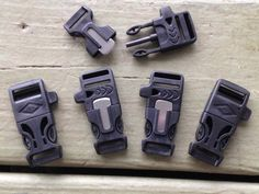 Our Firesteel Buckles come with the emergency whistle and the fire starter & scraper all in one. These fire starter buckles should be part of your EDC in so