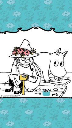 Moomin Wallpaper, Tove Jansson, Comic, Cute Art, Snoopy, Kawaii, Cartoon, My Love, Drawings