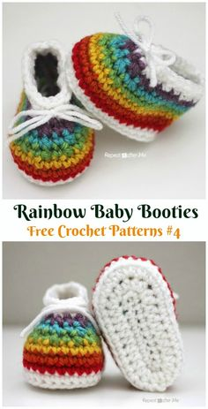 Crochet baby booties patterns are quite trending right now! In these free crochet baby booties patterns, you can find a vast collection of Crochet Baby Shoes, Newborn Crochet, Crochet Baby Booties, Crochet Slippers, Knitted Baby, Baby Booties Free Pattern, Crochet Socks Pattern, Bow Pattern, Crochet Patterns