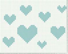 Intarsia heart class