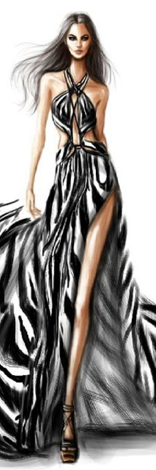 Fashion Illustraion  by Shamekh