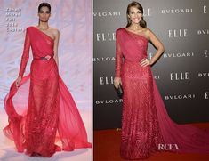 Paula Echevarria In Zuhair Murad Couture – Elle Style Awards 2014