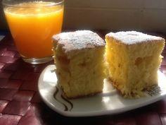 Bizcocho de Naranja.  http://frivolidadesdelkioscodelparque.blogspot.com.es/2013/04/bizcocho-de-naranja.html
