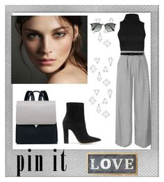 """Untitled #108"" by azbie ❤ liked on Polyvore featuring Polaroid, Gianvito Rossi, Burberry, Topshop, Ann Demeulemeester, Parlane, Umbra and Ray-Ban"