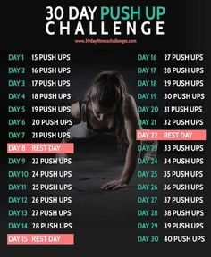 30-day-Push Up-challenge
