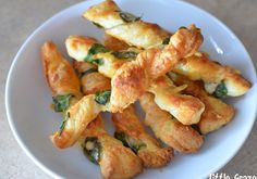 Parmesan and Spinach Cheese Twists