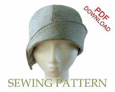 SEWING PATTERN  Clementine by ElsewhenMillinery on Etsy, $12.00