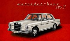 1960s Mercedes-Benz 108. Make mine with the inline-6, please.