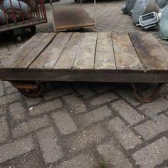 Industriele salontafel - Trading131