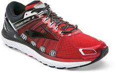 bad134271cd1 Brooks Men s Transcend 2 Road-Running Shoes High Risk Red Black 11 Brooks  Transcend