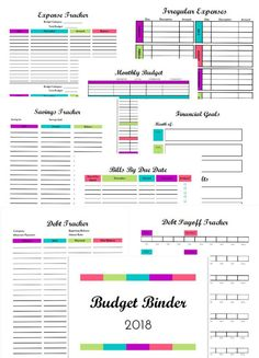 2020 Budget Binder: Budgeting & Financial Printables This FREE budget binder includes over 20 budget printables to track your expenses, save more money, and pay off debt. Get your finances organized in