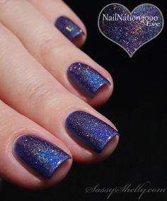 Sassy Shelly: Nails and Attitude: NailNation3000 Eve #403 ~ swatches and review