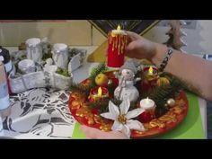Recycling - Kerzen aus Klopapierrollen/ Adventskranz - YouTube