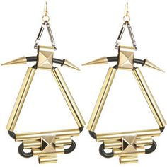 Fallon Labyrinth Chandelier Earrings! I'm in love with these from the moment I saw Lucy Hale (on PLL) and Khloe Kardashian wearing them. <3