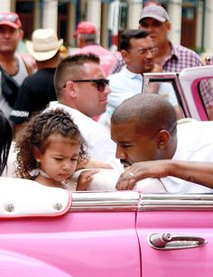 NORTH WEST AND DADDY KANYE WEST