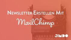 Erstellen einen MailChimp Newsletter, um Neuigkeiten und interessante Informationen mit den Besuchern deiner Jimdo-Website zu teilen.
