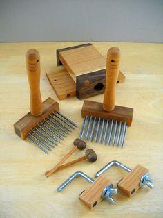 Benjamin Green Standard Wool Combing Kit by BenjaminGreenStudio