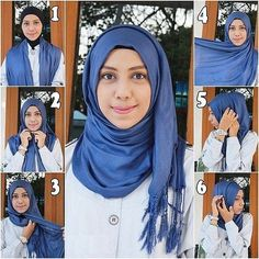 What are the food for thought about hijab? 10 commandment easy to remember, hijab in quran and quranmualim. Simple Hijab Tutorial, Hijab Style Tutorial, Easy Hijab Style, Hijab Chic, Hijabs, Hijab Mode Inspiration, Hijab Stile, How To Wear Hijab, Lässigen Jeans