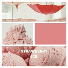 #strawberryice #pantonecoloroftheyear #pantone #inspiration #nanamarie #nanamarie_com