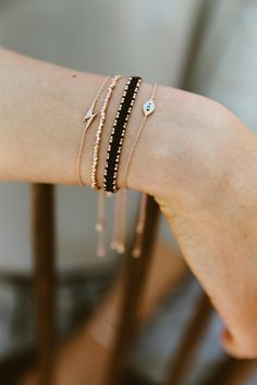 Friendship bracelets by Astley Clarke.