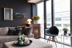 Why Black Walls are an Interior Design Tool You Should Use | Want a dramatic look at home but are afraid to paint your walls black? Let these five gorgeous rooms be your guide.