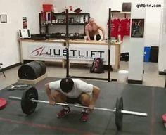 Weigh lifting like a boss