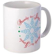Ready to Jingle 11 oz Ceramic Mug Ready to Jingle Mugs by Adrianne_Desire - CafePress Mug Designs, Drinkware, Ceramics, Mugs, Tableware, Color, Ceramica, Tumbler, Pottery