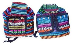 Guatemalan Multi Colored BackPack | Rad Hippie