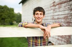 country boy senior pictures