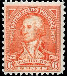 US Stamps 1932  Scott # 711