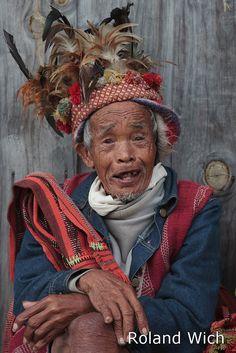 Ifugao Man . Banaue Philippines