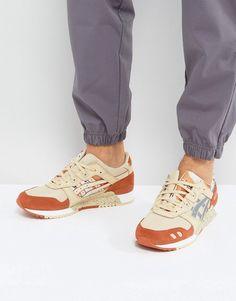 8f6c5e41d579 Asics Gel-Lyte III Sneakers in Beige H7Y0L 0593 at asos.com