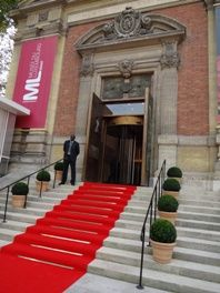 Red carpet at the Museum of Luxembourg - French national parliament red carpet - 1