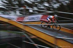 Lars van der Haar (NED/Giant-Shimano 2014) on fire during the UCI WORLD CUP CX in Heusden-Zolder