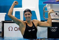 Dana Vollmer- world record!