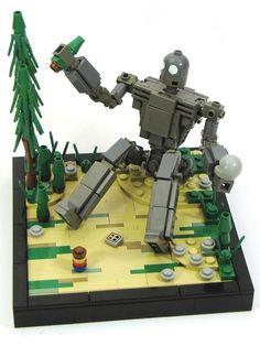 Fanmade Iron Giant Lego